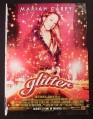 Magazine Ad for Glitter Movie, Mariah Carey, 2001