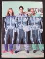 Magazine Ad for Got Milk, Cast of Scrubs TV Show, 2002