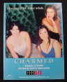 Magazine Ad for Charmed TV Show, 2002