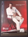Magazine Ad for Biography TV Show, Tom Selleck, A&E, 2003