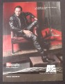 Magazine Ad for Biography TV Show, Nicolas Cage, A&E, 2003