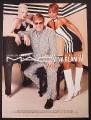 Magazine Ad for Viva Glam IV, Elton John, Mary J. Blige, Shirley Manson, 2003