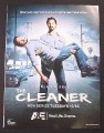 Magazine Ad for The Cleaner TV Show, 2008