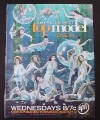 Magazine Ad for America's Next Top Model TV Show, 2005
