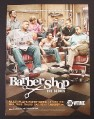 Magazine Ad for Barber Shop TV Show, 2005