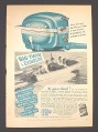 Magazine Ad for Big Twin Outboard Motor By Evinrude, $390, 1951