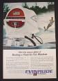 Magazine Ad for Evinrude Lark 40 Outboard Motor, Fun machine, 1967