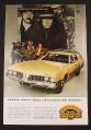 Magazine Ad for Olds Vista Cruiser Station Wagon, Western Movie Scene, 1968