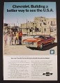 Magazine Ad for Chevrolet Chevelle Malibu Sport Coupe, Better Way To See The USA