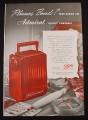 Magazine Ad for Admiral Petite Portable Radio, Pleasure Bound, 1948