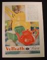 Magazine Ad for Vollrath Ware, Steel Enameled Kitchen Utensils, 1929