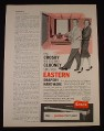 Magazine Ad for Eastern Drapery Hardware, Bing Crosby & Rosemary Clooney, 1961