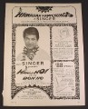 Magazine Ad for Hawaiian Happenings Singer Sewing Machines Don Ho Celebrity Endorsement 1968