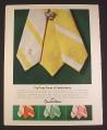 Magazine Ad for Countess Mara Fashionberry Silk Ties, 1974