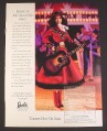 Magazine Ad for Country Rose Barbie At The Grand Ole Opry Collection Doll, 1998