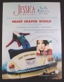 Magazine Ad for Jessica Andrews Heart Shaped World Album, 1999