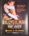 Magazine Ad for Billy Gilman One Voice Debut Album, 2000