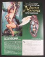 Magazine Ad for The Goddess of Temptation Fantasy Collector Knife, Knightstone Collections 2000