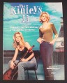 Magazine Ad for The Kinleys II Album, 2000
