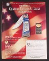 Magazine Ad for General Ulysses S. Grant Collector Knife, Franklin Mint, 2000