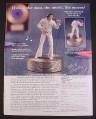 Magazine Ad for Elvis Presley Aloha Sculptural Music Box, Ardleigh Elliot, 2000