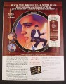 Magazine Ad for Elvis Presley Collector Plate Perpetual Calendar, Bradford Exchange, 2000