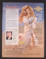 Magazine Ad for Lacey Doll, Rhonda Shear, Paradise Galleries, 2000
