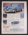 Magazine Ad for Collector's Edition Tucker 48 Diecast Metal Car, Fairfield Mint, 2000