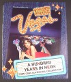 Magazine Ad for Only Vegas, A Hundred Years in Neon, 2005
