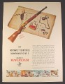 Magazine Ad for Winchester Northwest Territories Commemorative Rifle, 1979