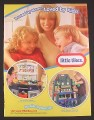 Magazine Ad for Little Tikes Cook N Learn Kitchen & Buildin To Learn Workshop Toys, 2007