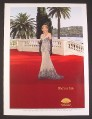 Magazine Ad for Mandarin Oriental Hotel Group, Helen Mirren Celebrity Endorsement, 2007