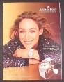 Magazine Ad for Audemars Piguet Watch, Cristie Kerr LPGA Golfer, 2007
