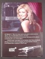 Magazine Ad for Mont Blanc Fountain Pen, Intimacy, Katherine Jenkins Opera Star, Celebrity, 2008