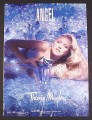 Magazine Ad for Angel Perfume, Thierry Mugler, Naomi Watts Celebrity Endorsement, 2008
