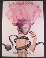 Magazine Ad for FlowerBomb Perfume, Viktor & Rolf, 2008