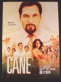 Magazine Ad for Cane TV Show, Jimmy Smits, Celebrity, 2007