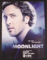 Magazine Ad for Moonlight TV Show, Alex O'Loughlin, Celebrity, 2007
