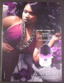 Magazine Ad for Avon Imari Seduction Perfume, Jennifer Hudson Celebrity, 2007