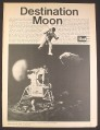 Magazine Ad for Revell Apollo Spacecraft Kit H-1836, Toys, 1967