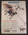 Magazine Ad for Airtronics Kalt RC Helicopters, Kalt 30 Baron, 1997