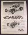 Magazine Ad for Royagi Ayk Super Trail R/C/ Car, Toys, 1983