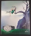 Magazine Ad for Rolex Oyster Perpetual Cosmograph Daytona, Fearless Luxury, 2008