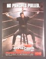 Magazine Ad for The Chris Rock Show, HBO TV Show, No Punches Pulled, 2000