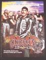 Magazine Ad for Knievel's Wild Ride TV Show, A&E, 2005