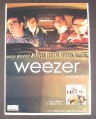 Magazine Ad for Weezer Maladroit New Album, Music, 2002