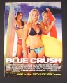 Magazine Ad for Blue Crush Movie, Kate Bosworth, 2002