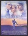 Magazine Ad for Here on Earth Movie, Leelee Sobieski, Josh Hartnett, Chris Klein, 2000