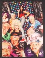 Magazine Ad for Candies Red Shoes Sneakers, Seniors Gone Wild, Brandy, Celebrity, 1998