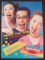 Magazine Ad for Ferrara Pan Lemonhead & Red Hots Candies, 2003